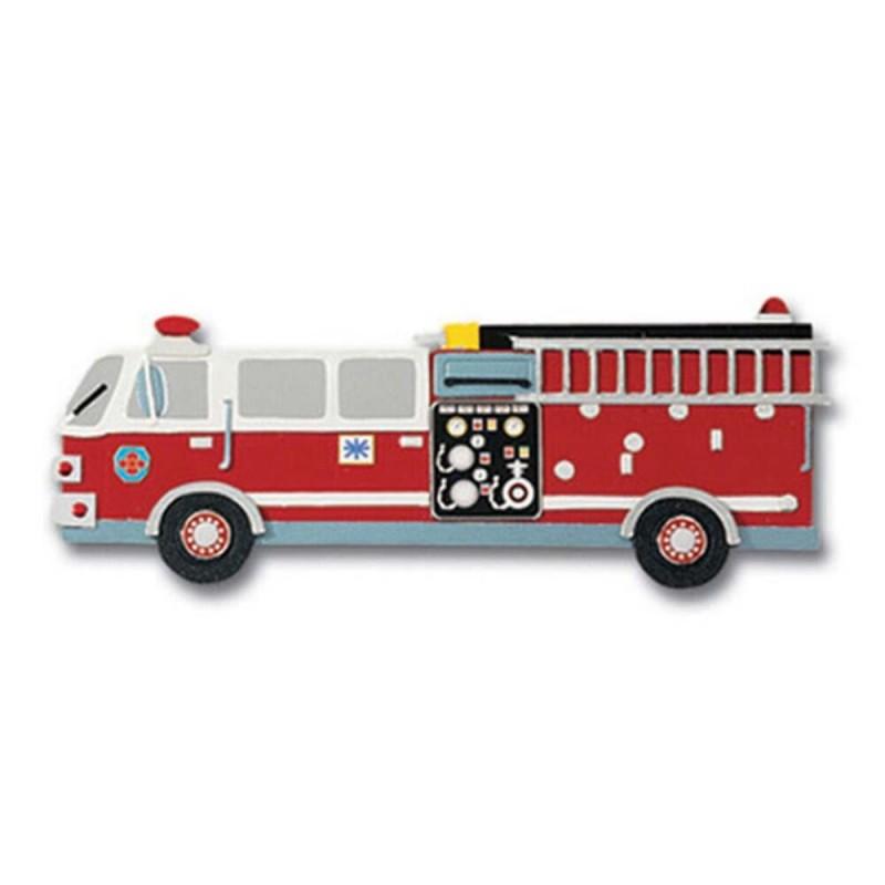 Jolee's Boutique Fire Engine Dimensional Embellishment