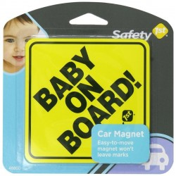 Safety 1st Baby On Board Sign Car Magnet