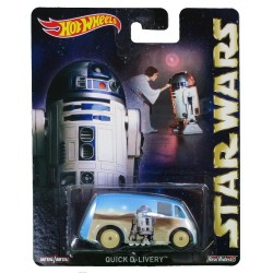Hot Wheels Star Wars Quick D-Livery R2-D2 Die-Cast