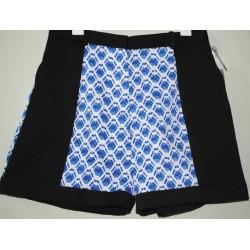 Peter Pilotto Blue Geometric Print Shorts