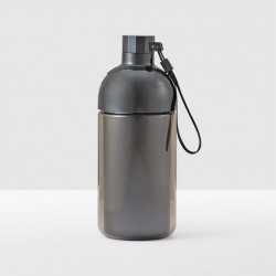 Starbuck Two-Piece Black Water Bottle, 31 fl oz