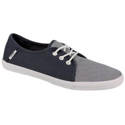 VANS Tazie Skinny Stripes Navy / White Women's Shoes