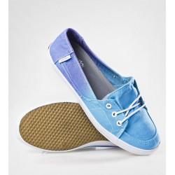 VANS Palisades Vulc Ombre Norse Blue Women's Shoes - Size US 5