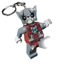 LEGO Legends of Chima LED Lite Key Chain - Worriz