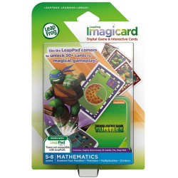 LeapFrog Teenage Mutant Ninja Turtles Imagicard Learning Game