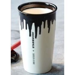 Starbucks Limited Edition Band of Outsiders Designer - Black - 12 FL Oz