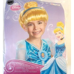 Disney Princess Cinderella Kid Girls' Halloween Wig