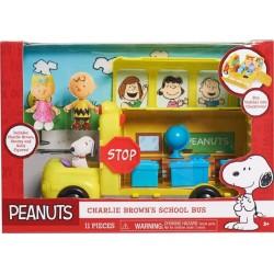 Peanuts Charlie Brown School Bus