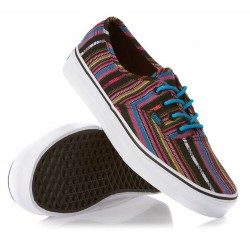 VANS Authentic Guate Stripe Black Unisex Shoes