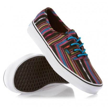 VANS Authentic Guate Stripe Black Unisex Shoes