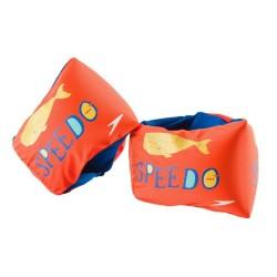 Speedo Kids Orange Whale Fabric Armbands