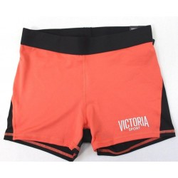 Victoria's Secret Sport The Player Orange Hot Medium Rise Short