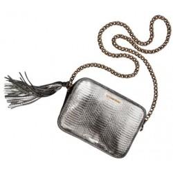 Victoria's Secret Metalic Silver Cross Body Bag
