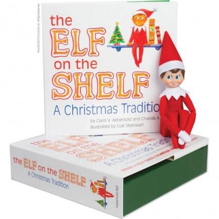The Elf on the Shelf A Christmas Tradition (Blue-Eyed Boy)