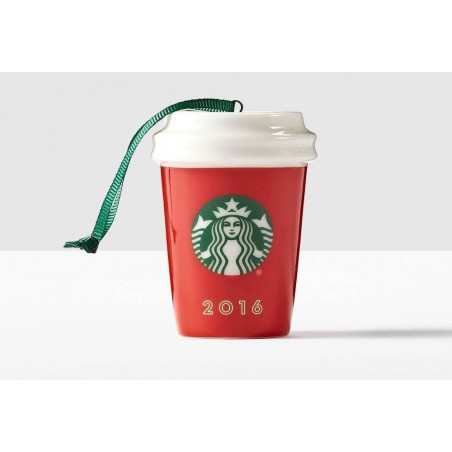 Starbucks Red Holiday Cup Ornament