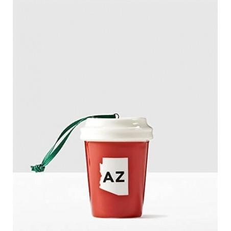 Starbucks Local Ornament Arizona USA State Collection