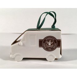 Starbucks Delivery Truck Holiday Ornament