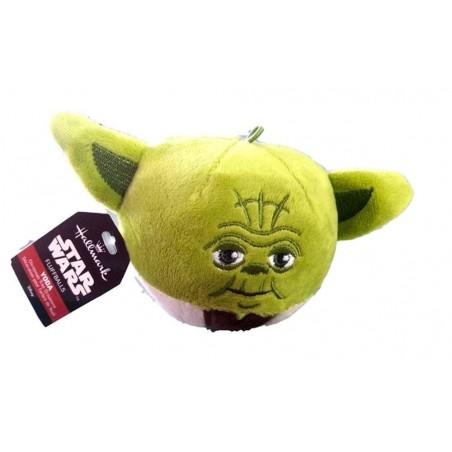 Star Wars Yoda Fluff Ball Ornament by Hallmark