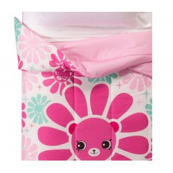 Shopkins Happy Places Super Soft Pink Blue Comforter