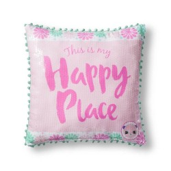Shopkins Happy Places Throw Pillow