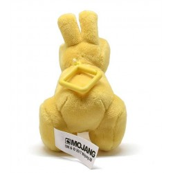 Minecraft Baby Yellow Bunny Clip Plush