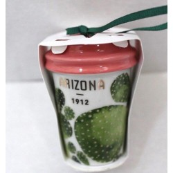 Starbucks 2017 Christmas Holiday Arizona Cup Ornament