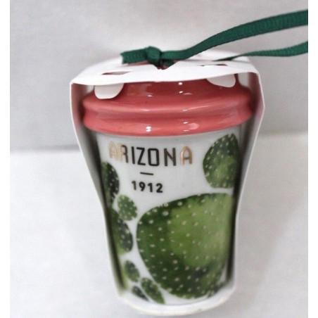 Starbucks 2017 Christmas Holiday Arizona Cup Ornament