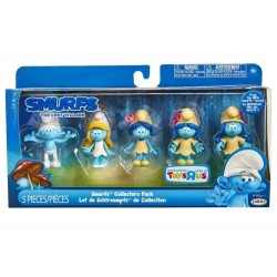 Smurf The Lost Villate Collectors Set 5-Pack Figures