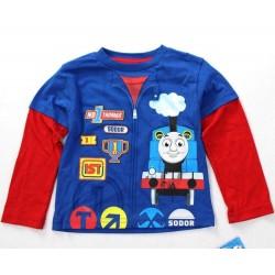 Thomas & Friends Red Blue Long Sleeve T-Shirt