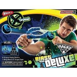 Whamo Hacky Sack Blaster Deluxe Sling Shot