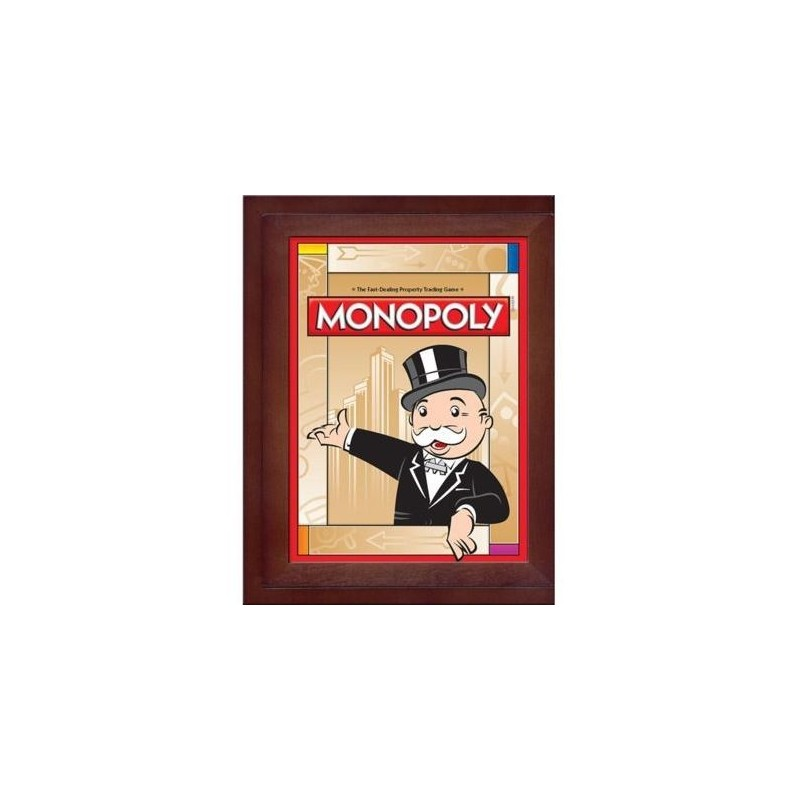 Monopoly Vintage Games Collection in Collectible Wooden Box