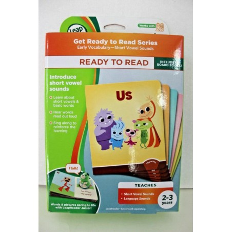 LeapFrog LeapReader Junior Ready to Read Interactive 6Book Set
