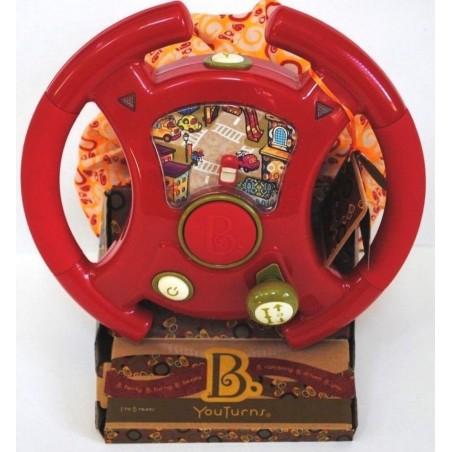 B Toys You Turn Steering Driving Wheel