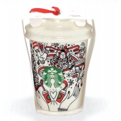 Starbucks Cup Christmas Holiday Ornament