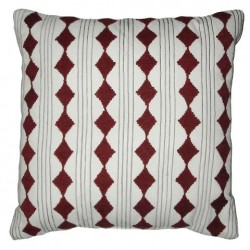 Nate Berkus Decorative Embroidered Diamond Cord Pillow