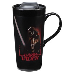Vandor Star Wars Darth Vader 20 Oz. Heat Reactive Mug (99351)