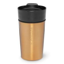 Starbucks Stainless Steel & Ceramic Mug - Black/Copper, 12 Fl Oz
