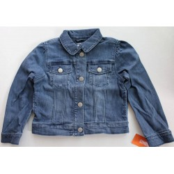 Gymboree Girls' Blue Denim Jacket Size S (5-6)