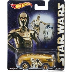 Hot Wheels Star Wars Pop Culture Series C3PO Gold Hauling' Gas Die Cast