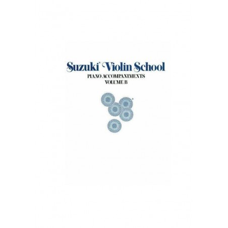 Suzuki Violin School Piano Accompaniments B Book Volume 6-10