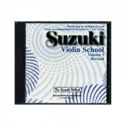 Suzuki Violin School CD Volume 3 by William Preucil (2008, CD, Revised)