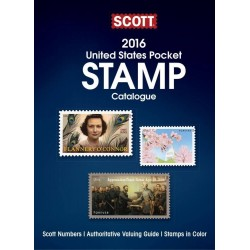 2016 United States Pocket Stamp Catalogue (Scott Pocket Catalgoue) - Spiral Bound