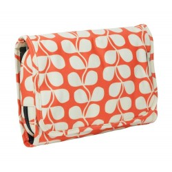 Orla Kiely Tall Flower Medium Hanging Organizer Cosmetic Bag