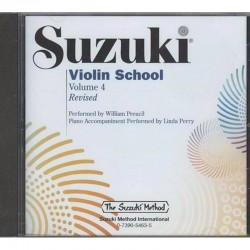 Suzuki Violin School CD Volume 4 by William Preucil (2008, CD, Revised)