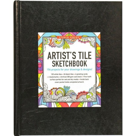 Studio Series Artist's Tile Sketchbook (tile art) - Hardcover