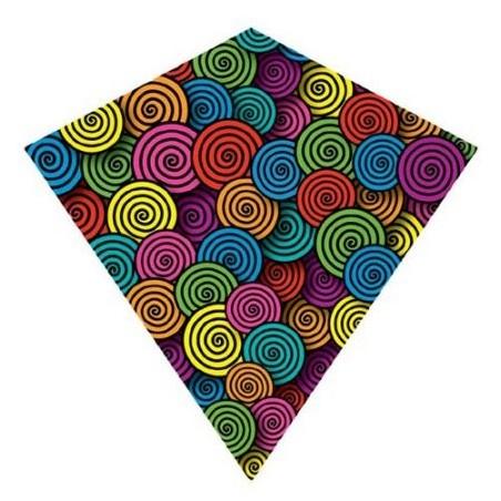 """X Kites ColorMax Swirls Tourbillon 25"""" Kite"""
