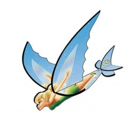 Flexwing Glider Disney Fairies Tinkerbell 16 inch Kite