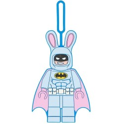 LEGO Bunny Batman Luggage Backpack Tag