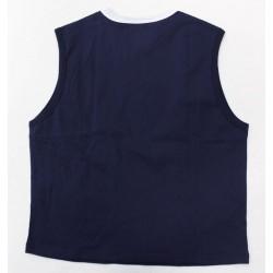 FILA Women Navy Cotton Muscle Tank Top - Size XL
