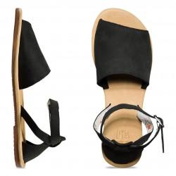 Vans Women's Ankle Hi Sandals Leila Hurst Black
